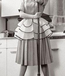 žena čisti